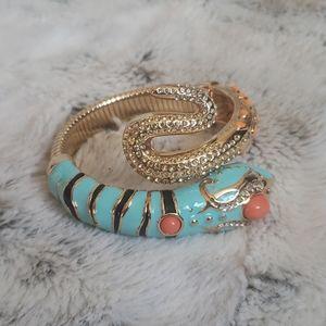 Anna Del Russo x H&M snake bracelet